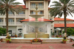 Fountain at Resort Royalty Free Stock Images