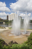 Fountain in Rockford Royalty Free Stock Image