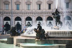 Fountain in Rome Royalty Free Stock Photo