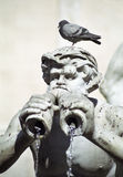 Fountain in Rome. Detail of a fountain in Rome, Italy Stock Images