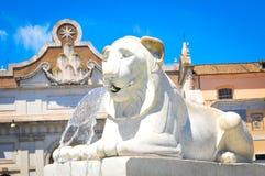 Fountain in Rome, Italy Royalty Free Stock Photo