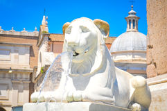 Fountain in Rome, Italy Stock Images
