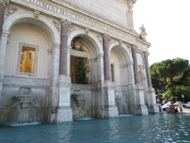 Fountain in Rome. Lazio, italy Royalty Free Stock Image