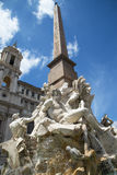 Fountain in Rome Royalty Free Stock Images