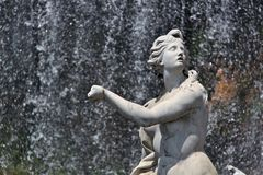 Fountain at Royal Palace - Caserta Royalty Free Stock Photography
