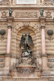 Fountain Saint-Michel Royalty Free Stock Photography