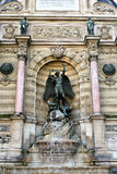 Fountain Saint-Michel, Paris Royalty Free Stock Photo