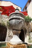Fountain in Saint Paul de Vence, France Royalty Free Stock Images