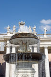 Fountain in Saint Peter Square Stock Photography