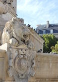 Fountain Saint-Sulpice Royalty Free Stock Images
