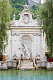 Fountain Salzburg Stock Photos