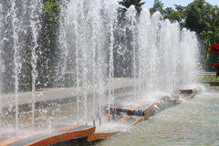 Fountain in Samara Stock Photos