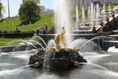 Fountain Samson Royalty Free Stock Photos