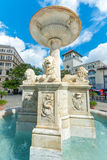 Fountain at San Francisco Square in Old Havana Stock Photos