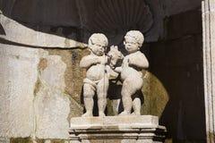 Fountain in the sanctuary of Bom Jesus do Monte, Braga Stock Photos