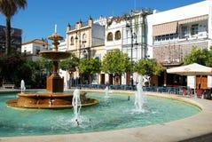Fountain, Sanlucar de Barrameda. Stock Images