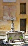 Fountain of Santa Caterina church, Asolo, Italy Royalty Free Stock Image