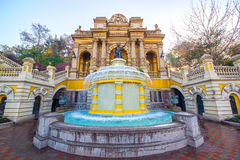 Fountain in Santiago, Chile Stock Photos