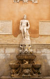Fountain of Saturn, Trapani Stock Image
