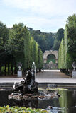 A fountain in the Schönbrunn palace Stock Images