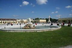 Fountain_Schönbrunn Palace Stock Photography