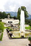 Fountain in  Schloss Linderhof Stock Photography