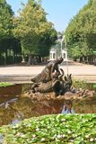Fountain. Schonbrunn Palace. Vienna, Austria Stock Photo