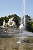 The Fountain in Schonbrunn palace, Vienna, Austria Royalty Free Stock Image