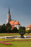 Fountain in Schonbrunn park Stock Photo