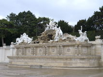 Fountain in Schonbrunn, Vienna, Austria Royalty Free Stock Photography
