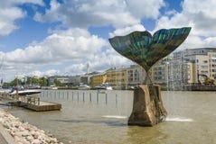 Fountain sculpture Harmony Turky Stock Image