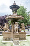 Fountain Sculpture Leicester England Royalty Free Stock Photo