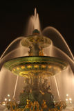 Fountain of the Seas, Place de la Concorde, Paris Royalty Free Stock Photo