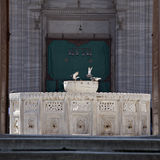 Fountain in Selimiye Mosque Royalty Free Stock Photography