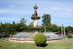 Fountain in Seville Royalty Free Stock Photos