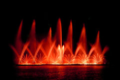 Fountain show Stock Photo
