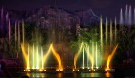 Fountain show Royalty Free Stock Photos