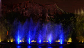 Fountain show Royalty Free Stock Images