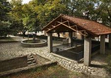 Fountain in Sighnaghi. Kakheti. Georgia.  royalty free stock image