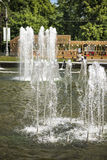 Fountain in Sokolniki Park Royalty Free Stock Photo