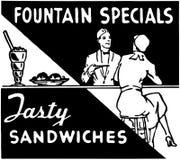 Fountain Specials Royalty Free Stock Photo