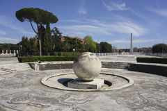 Fountain of the Sphere Stock Image