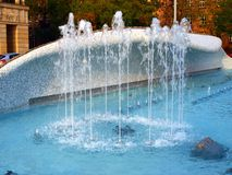 Fountain Spinner. Royalty Free Stock Photo