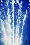Fountain Splash. A jet of water from a fountain in Brighton Royalty Free Stock Photos