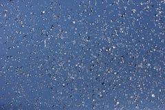 Fountain splashing against blue sky Royalty Free Stock Image