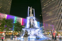 Fountain sq Royalty Free Stock Photos