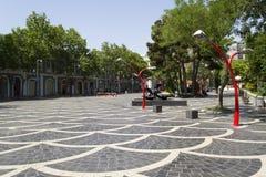Fountain square in Baku Royalty Free Stock Photos
