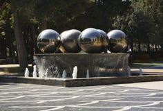 Fountain square in Baku. Azerbaijan Royalty Free Stock Image