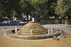 Fountain square in Baku. Azerbaijan Stock Photos