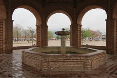 Fountain on the square Stock Photography